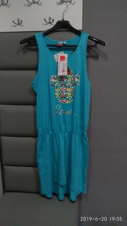 OKAZJA ! sukienka dresowa 38/M 170