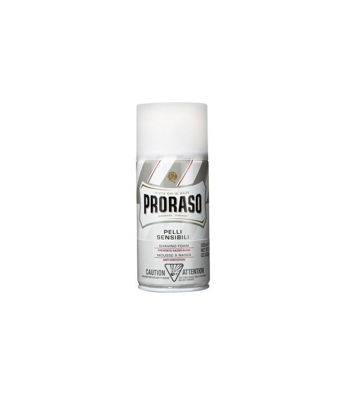 PRORASO WHITE Shaving Foam, pianka do golenia 50ml