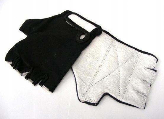 * TŁUMIĄCE WIBRACJE czarne rękawiczki XL Lycra