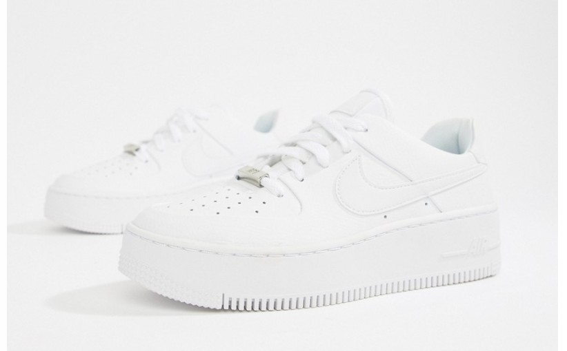 36 39 Authentic Nike WMNS Air Force 1 Sage Low AR5339 100