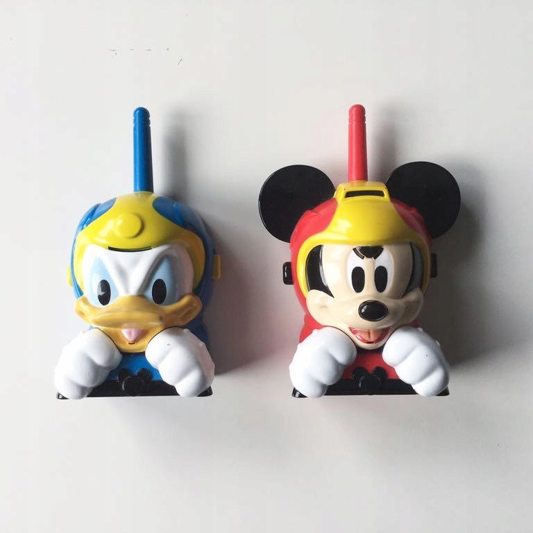 Miki i raźni rajdowcy walkie talkie krótkofalówki