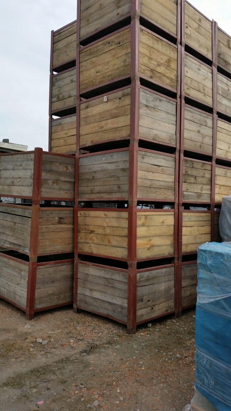 Modne ubrania Skrzyniopalety drewniane, sadownicze do owoców - 7548953175 RD82