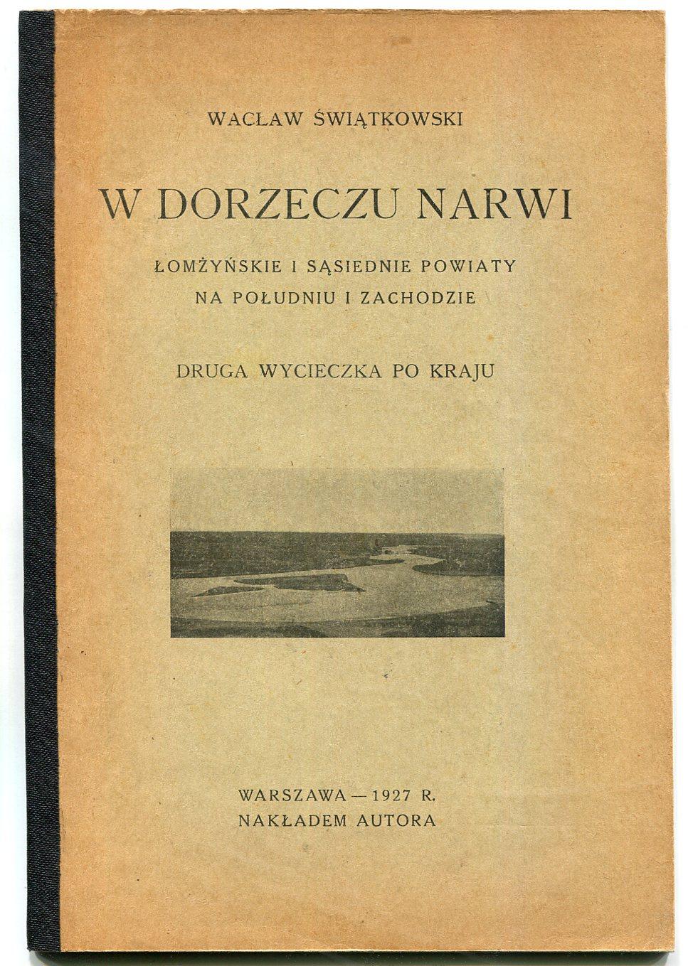 ŁOMŻYŃSKIE - PODLASIE -- opisy miasteczek 1927