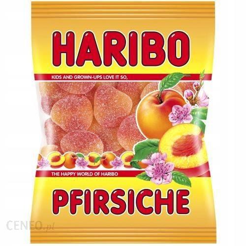 Niemieckie żelki HARIBO pfirsiche 200 g