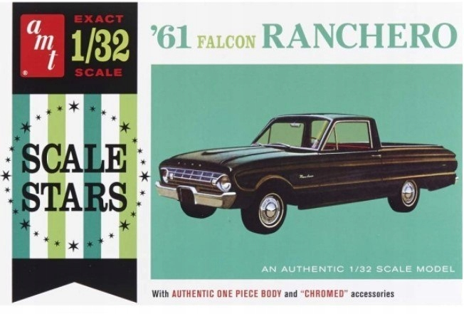 Model plastikowy - Samochód 1961 Ford Ranchero - A