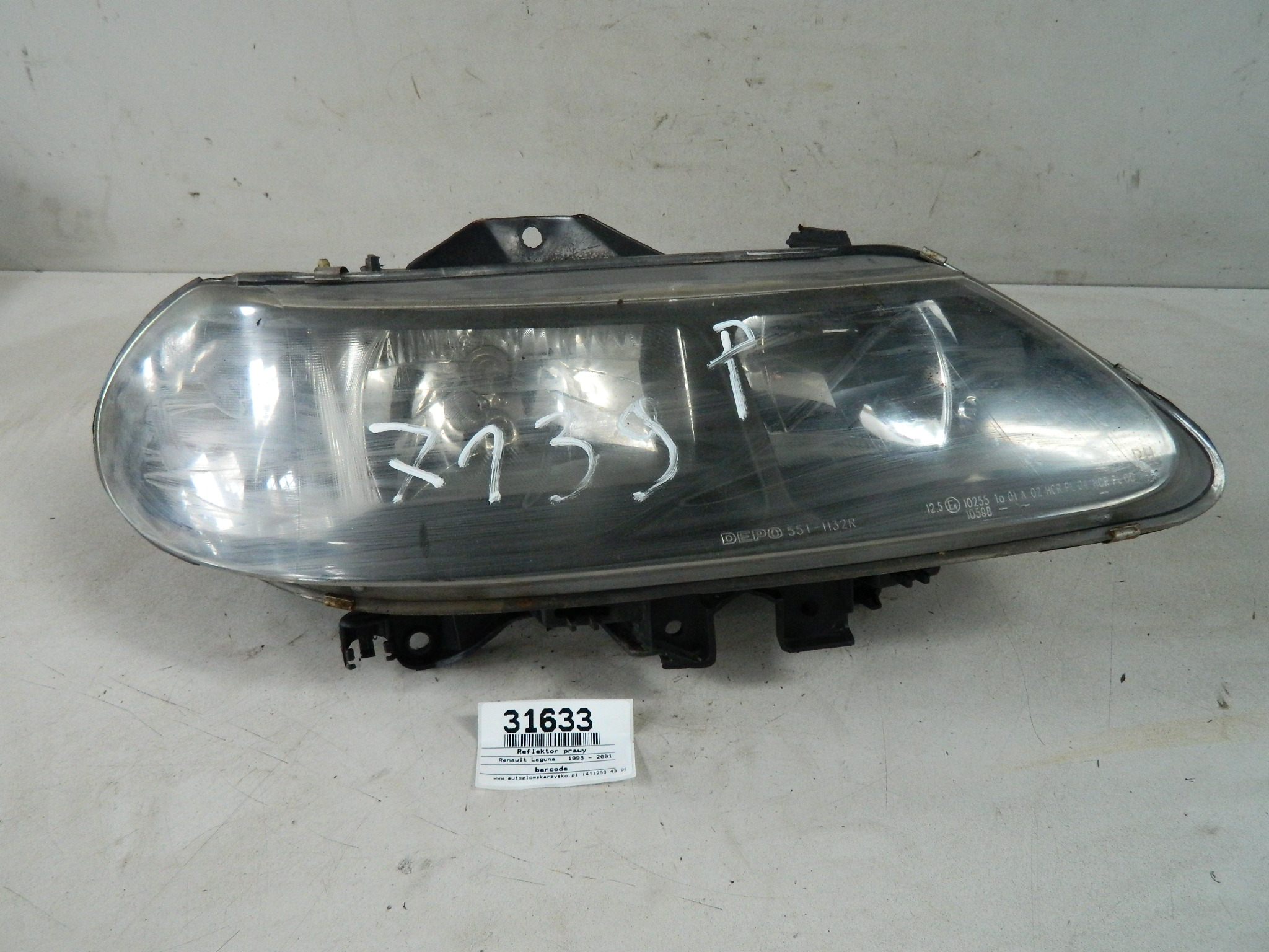 Renault Laguna 1 Lift Reflektor Prawy Lampa Przód