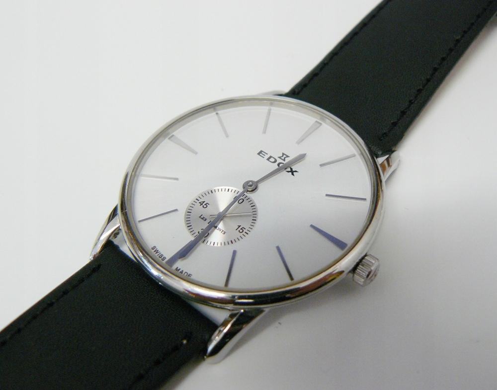 zegarek EDOX Les Bemonts 72014 ultra slim