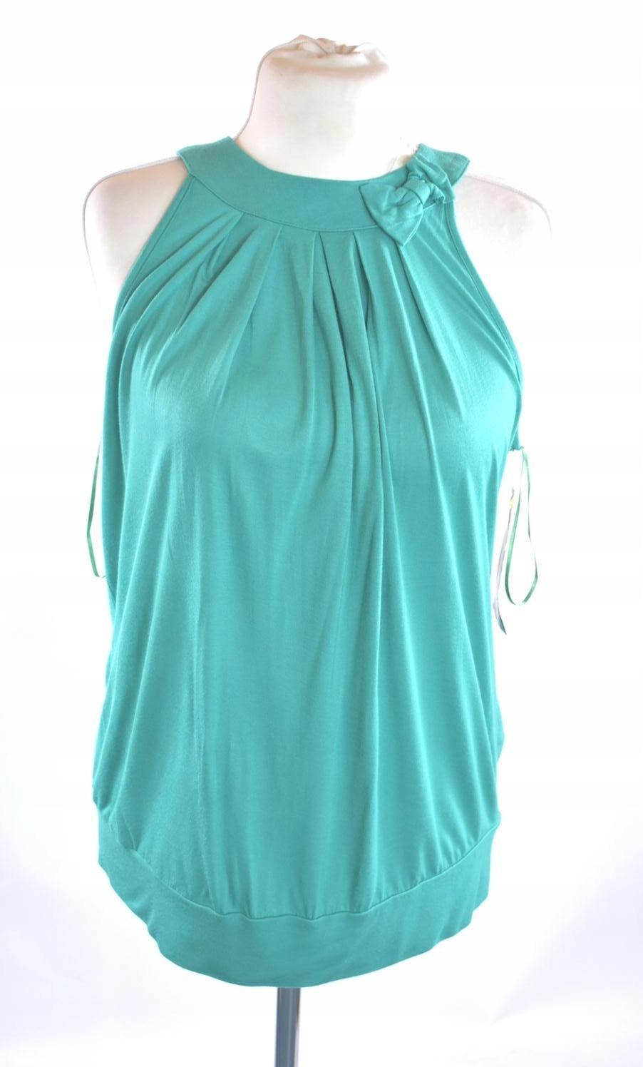 NEXT bluzka damska bez rękawów r. 50 zielona