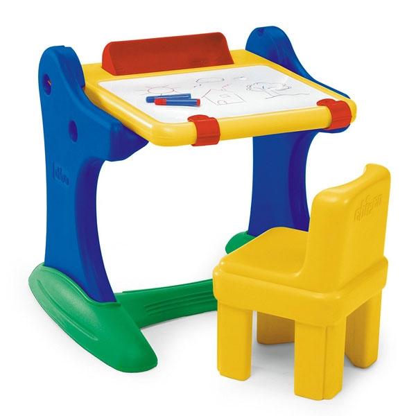 CHICCO Biurko Edukacyjne Z Krzesełkiem