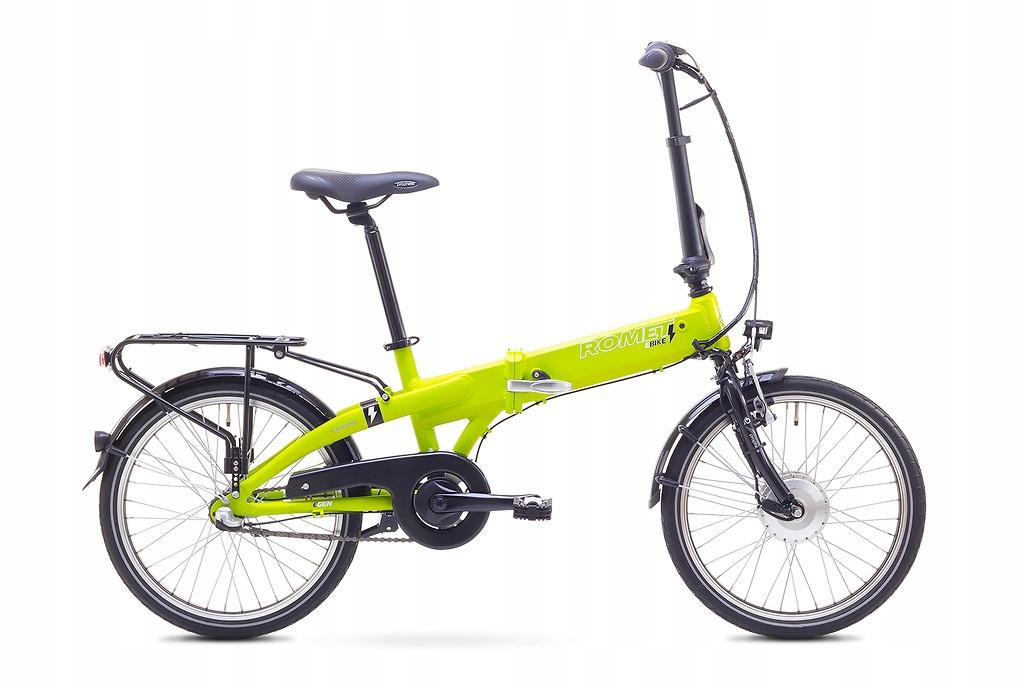 Rower elektryczny miejski składak Romet F20