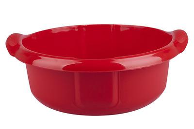 ARTGOS Miska plastikowa 14 L 36 cm czerwona