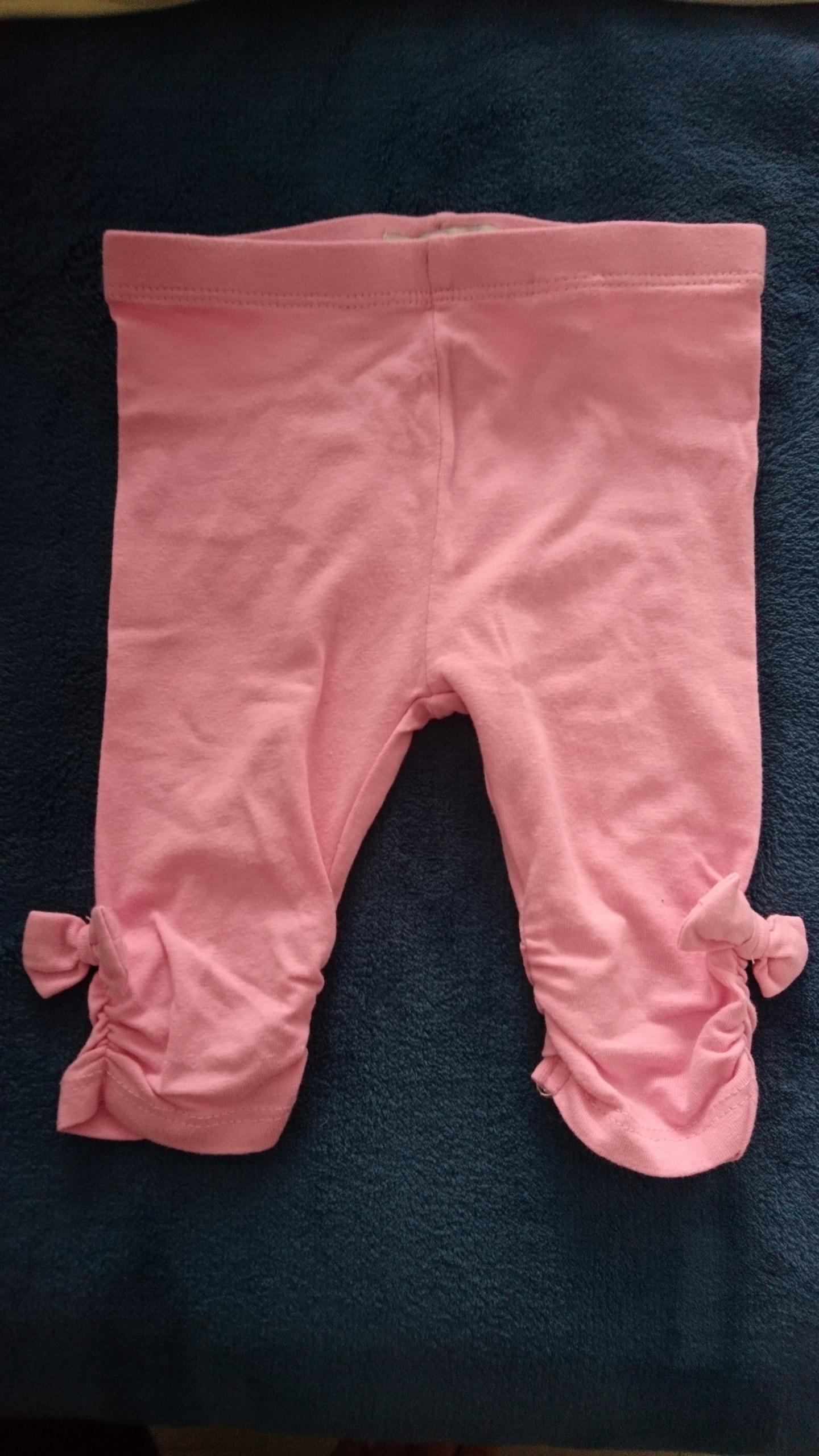 68 legginsy różowe Reserved