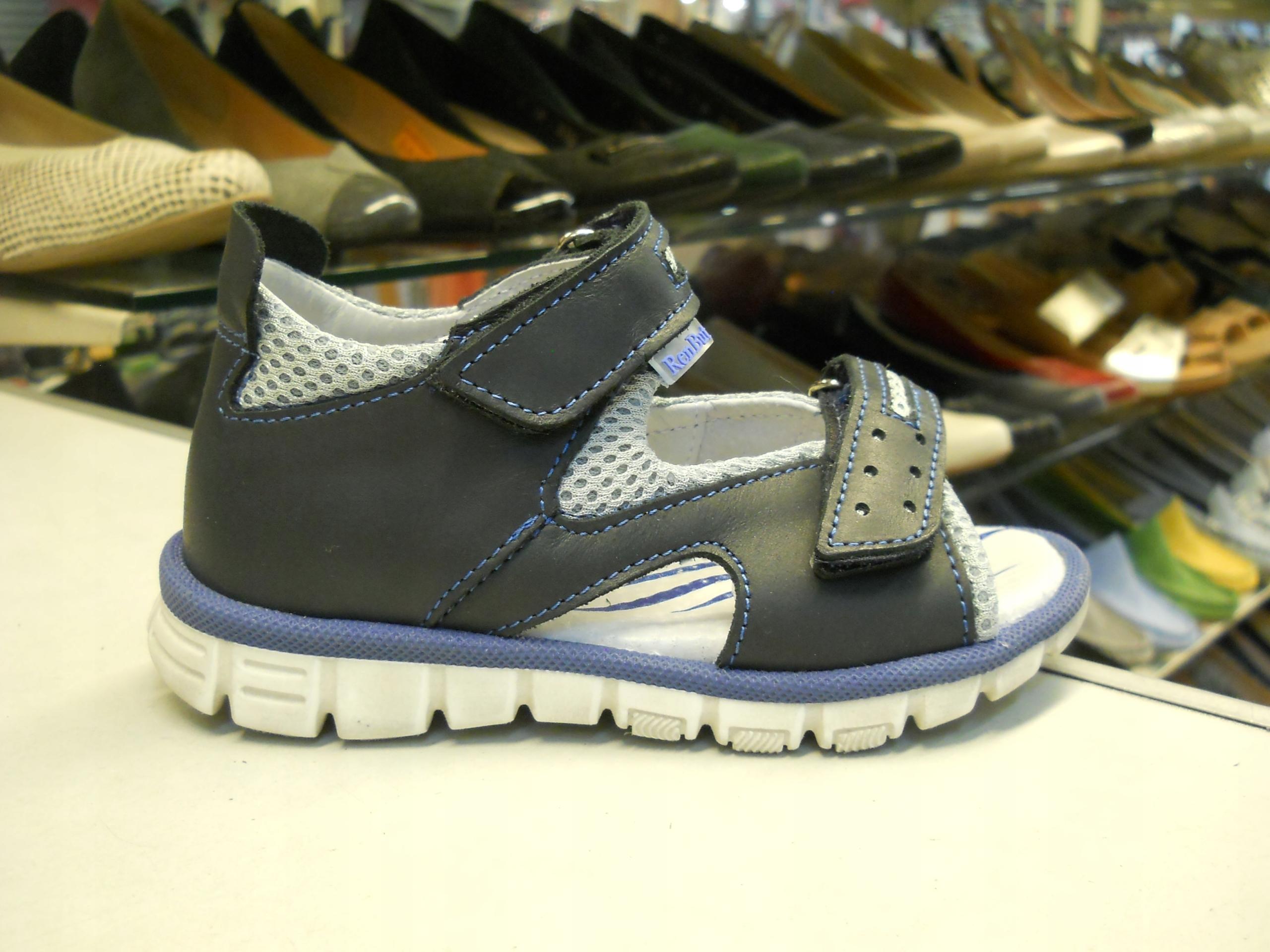 Sandałki chłopiec RenBut 3253 wkł. 16,4 cm. roz.26
