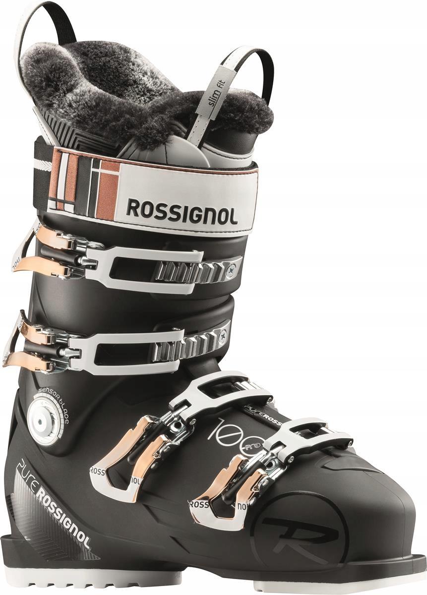 437586349502 Buty narciarskie Rossignol Pure Pro 100 Czarny 27. - 7689793897 ...