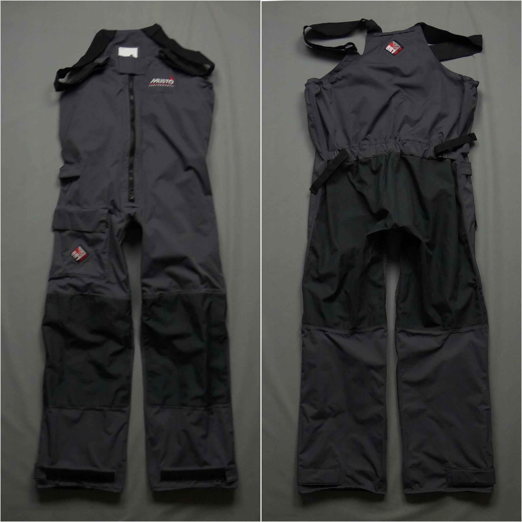 MUSTO BR1 męskie spodnie żeglarkie sztormiaki XL