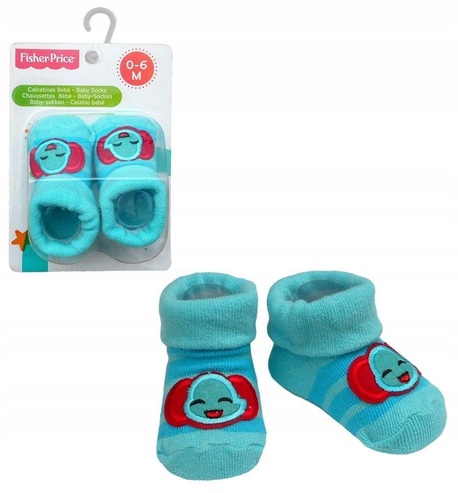 Skarpetki niemowlęce - słoń Fisher Price