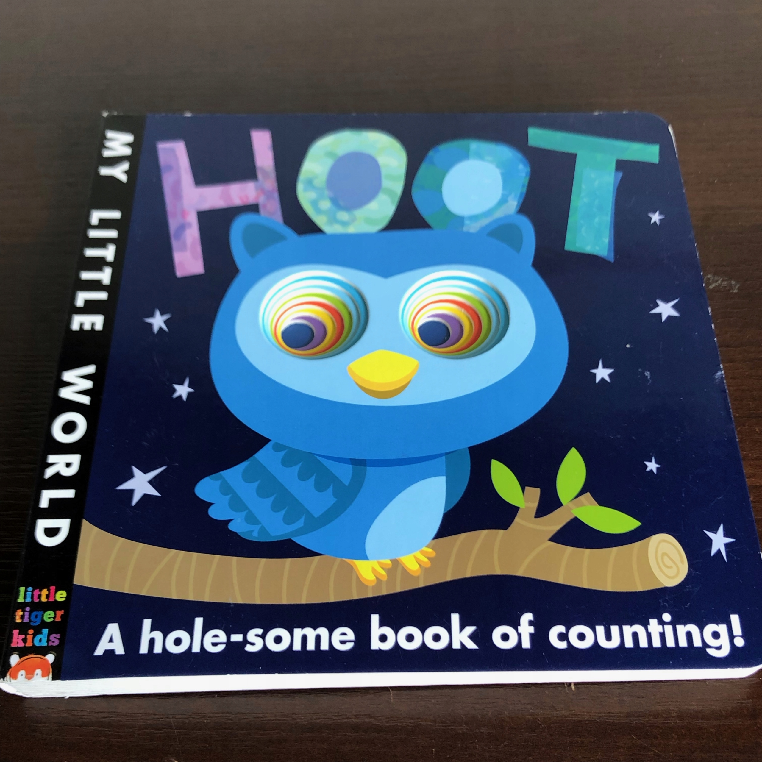 Książka angiel HOOT A HOLE SOME BOOK OF COUNTING!