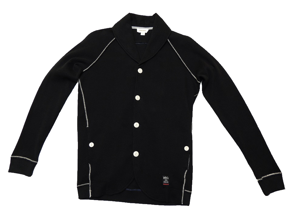 Diesel Pullover Sweaters Black Gold Slim Fit L