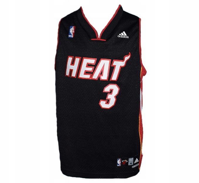 NBA ADIDAS HEAT 3 WADE koszulka z USA