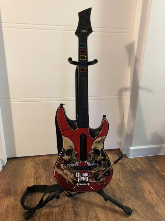 Gitara Guitar Hero Metallica Xbox 360 + 2 gry