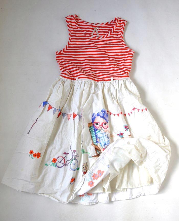 NEXT Sukienka MAxi Długa 10lat 140cm NOWA