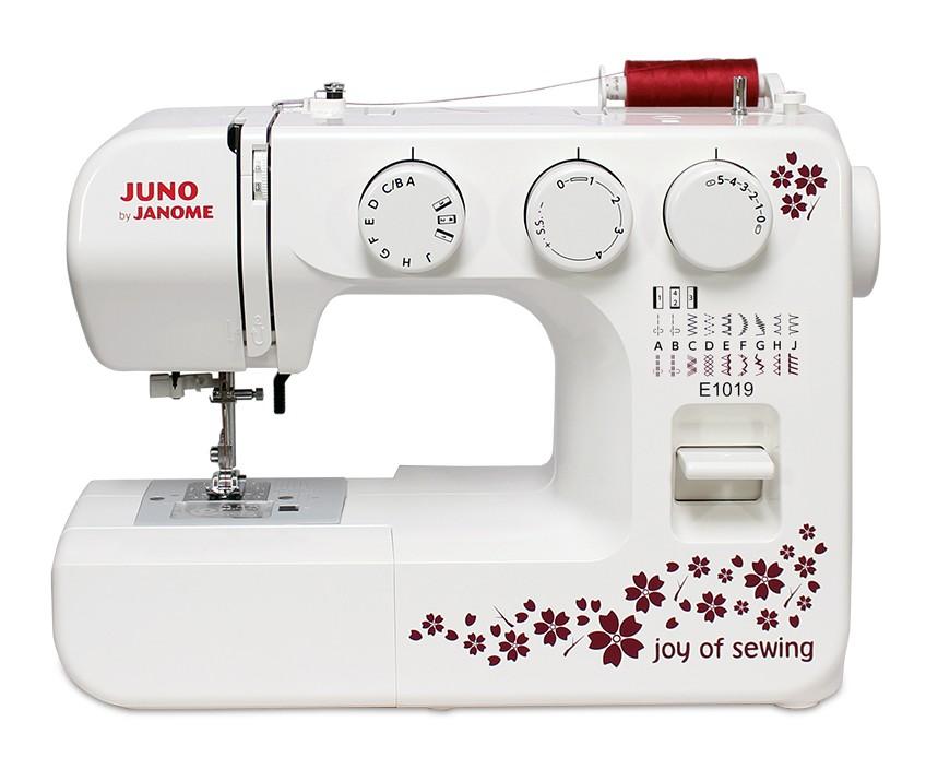 JANOME Maszyna do szycia JUNO E1019