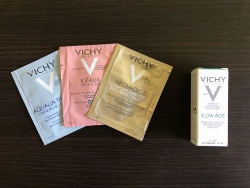 Zestaw Miniproduktów VICHY + gratis