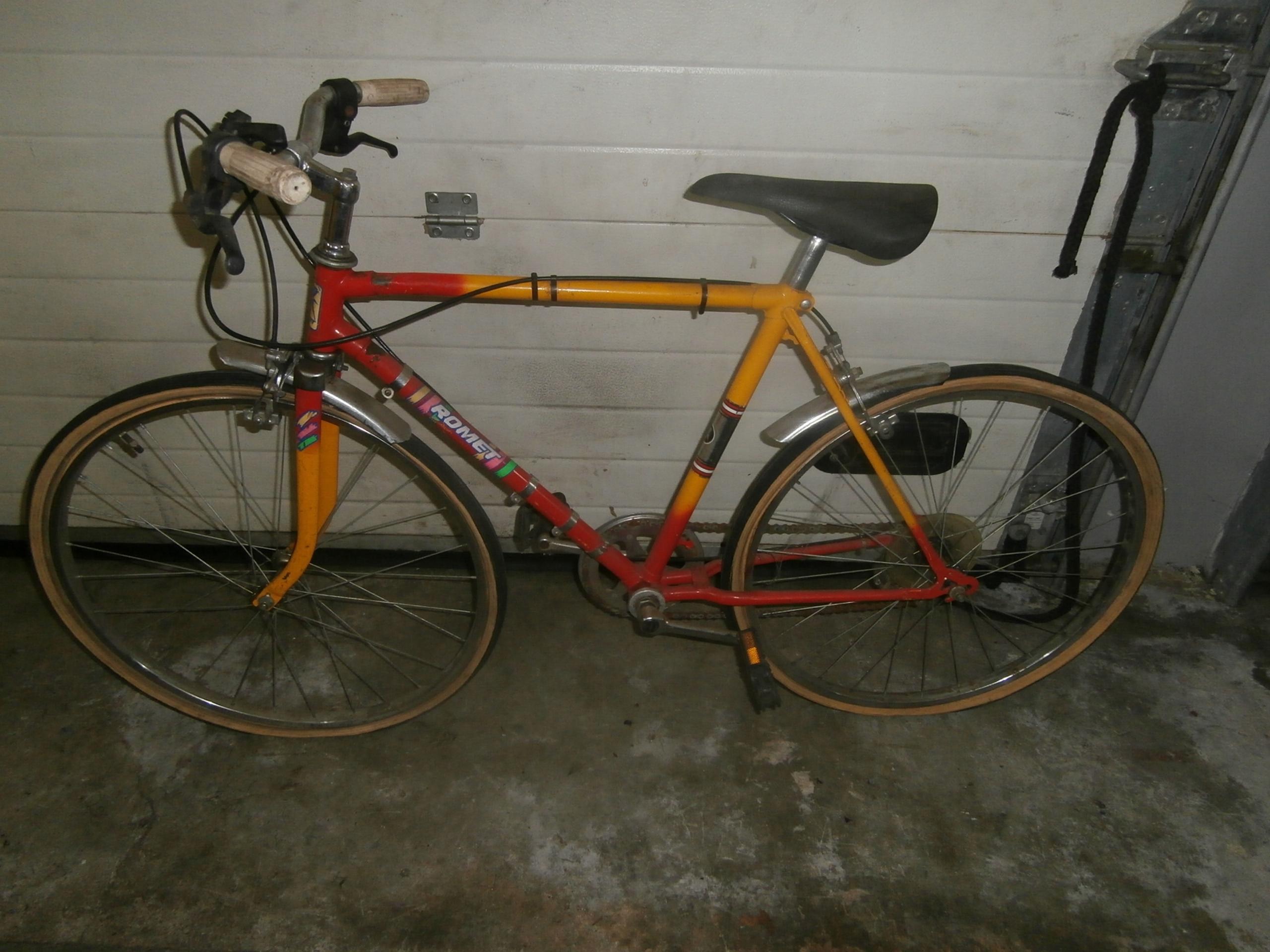 rower romet mała kolarzówka 1980 r