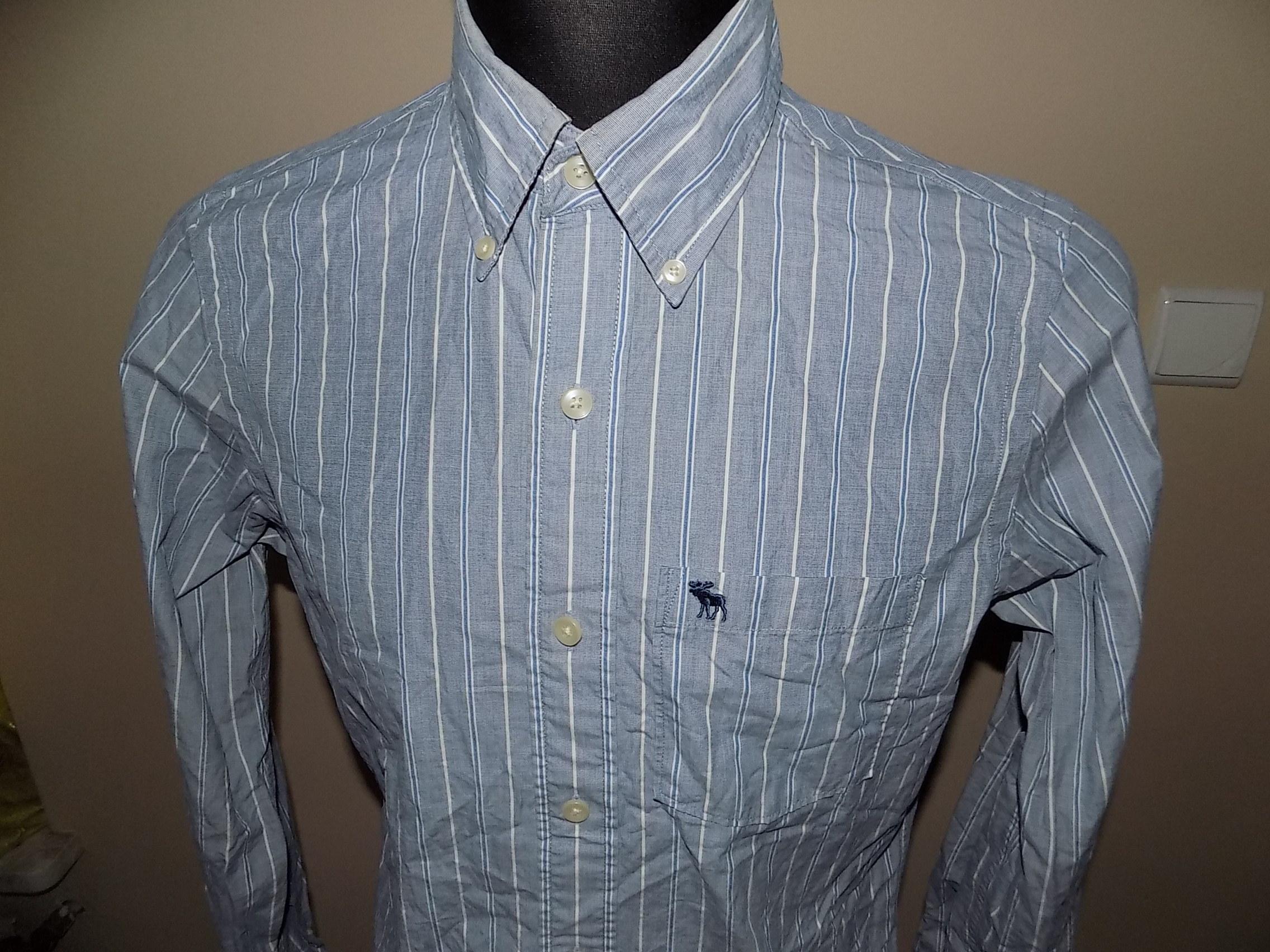 Abercrombie&Fitch koszula męska S 39 paski