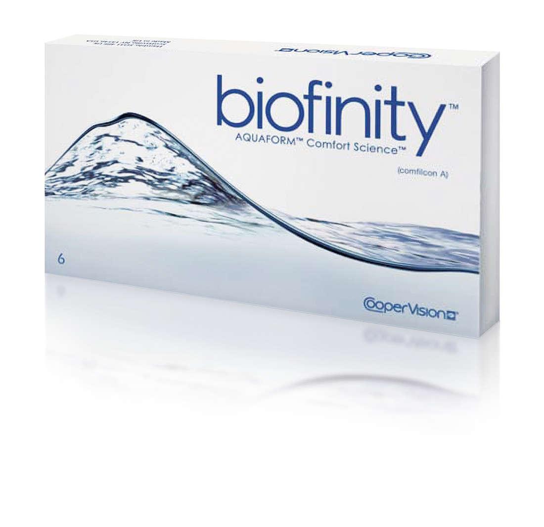 Biofinity Comfilcon 6 szt (2 X 3 SZT)