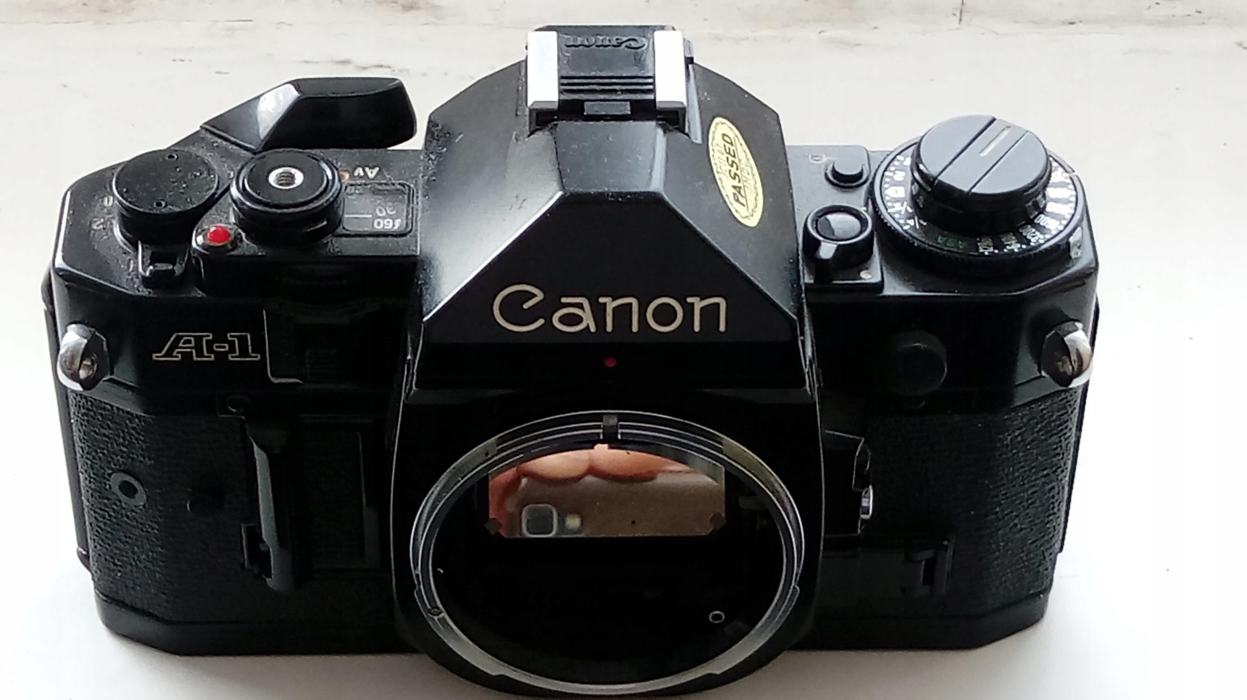canon A1 Uszkodzony