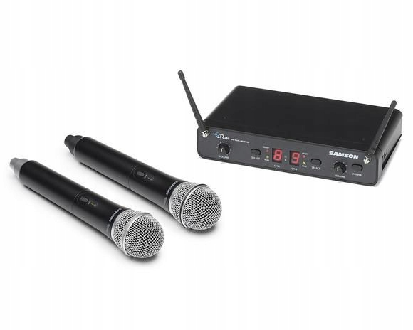 Samson CR288 Concert 288 Handheld - Dual-Channel W