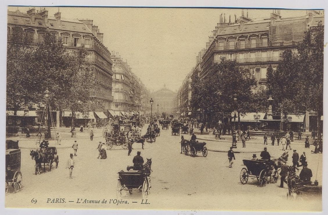 PARYŻ Paris ok.1910r. x424
