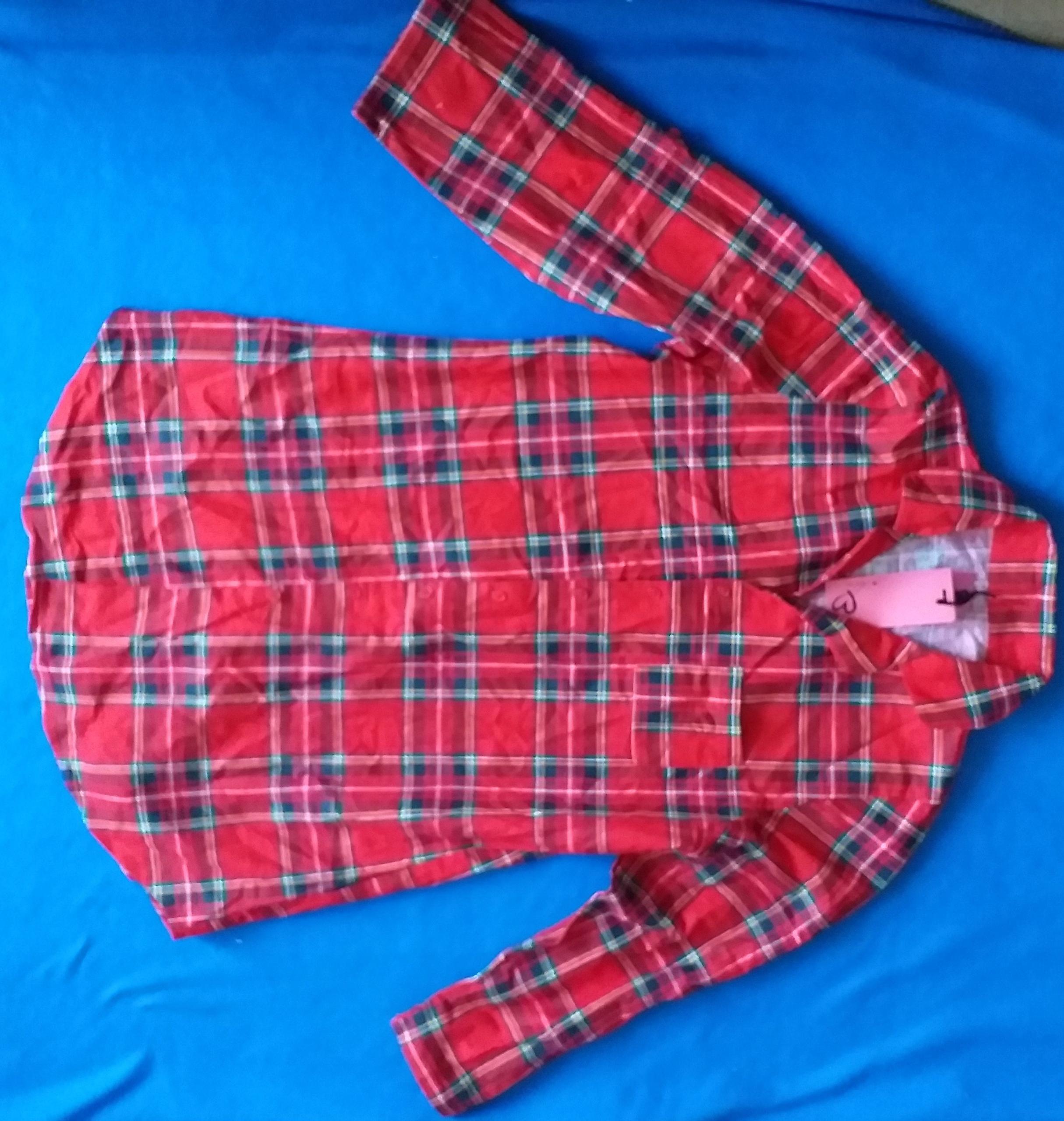 Koszula w kratę tartan długa ADORE podpinane rękaw