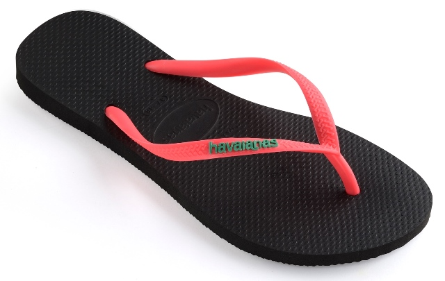 Havaianas Slim Logo Pop-Up 35/36 czarne klapki %%%