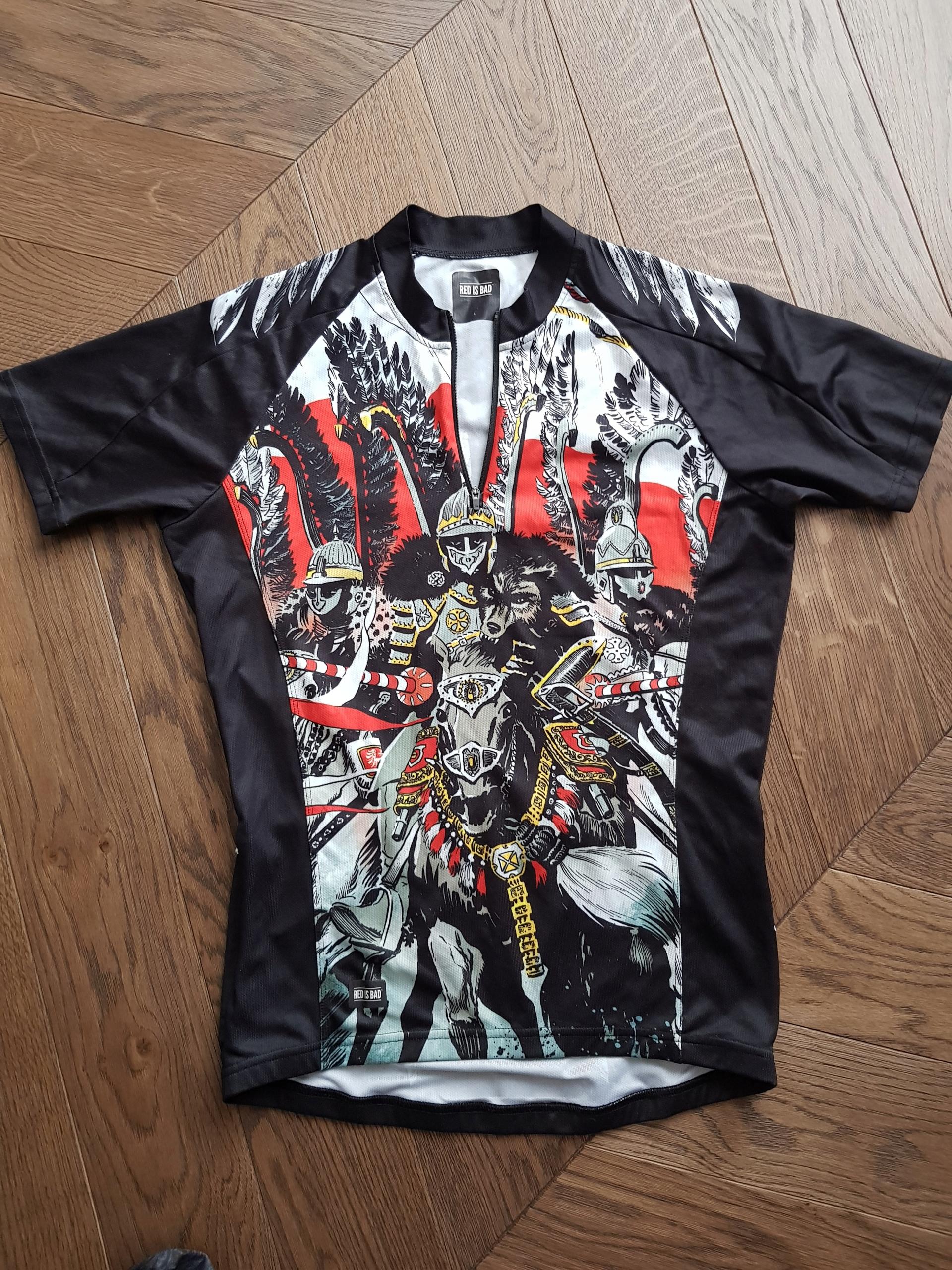 Red is bad koszulka termoaktywna rowerowa męska L