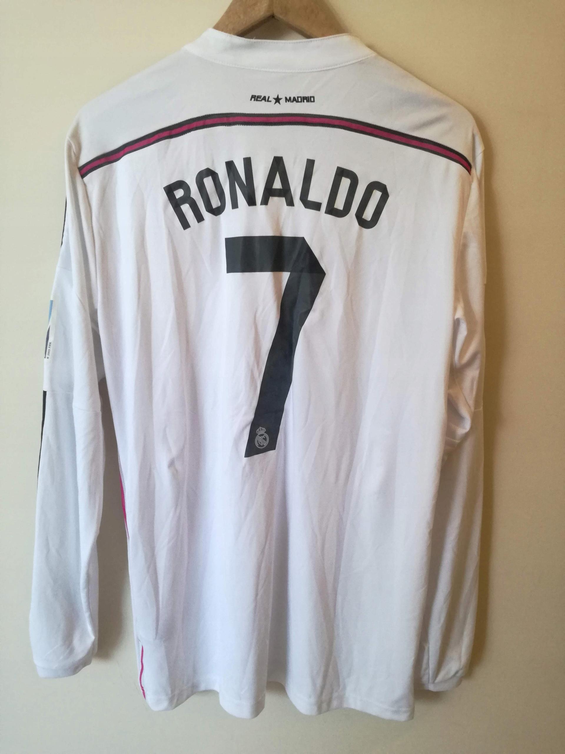 Real Madryt koszulka z długim rękawem 7 RONALDO w Koszulki i