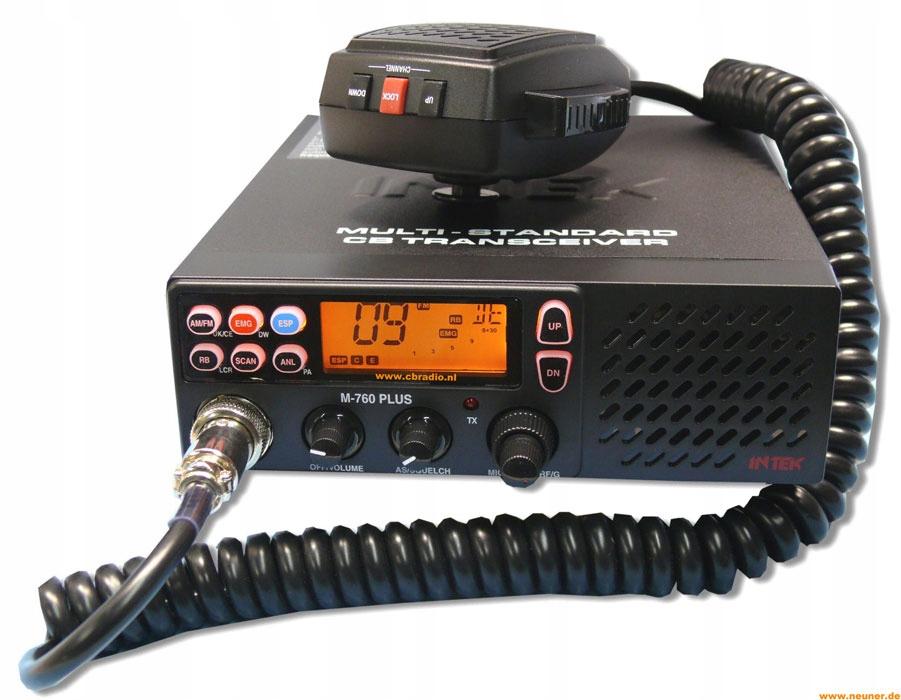 Zestaw CB INTEK M-760 Plus + antena SIRIO TURBO
