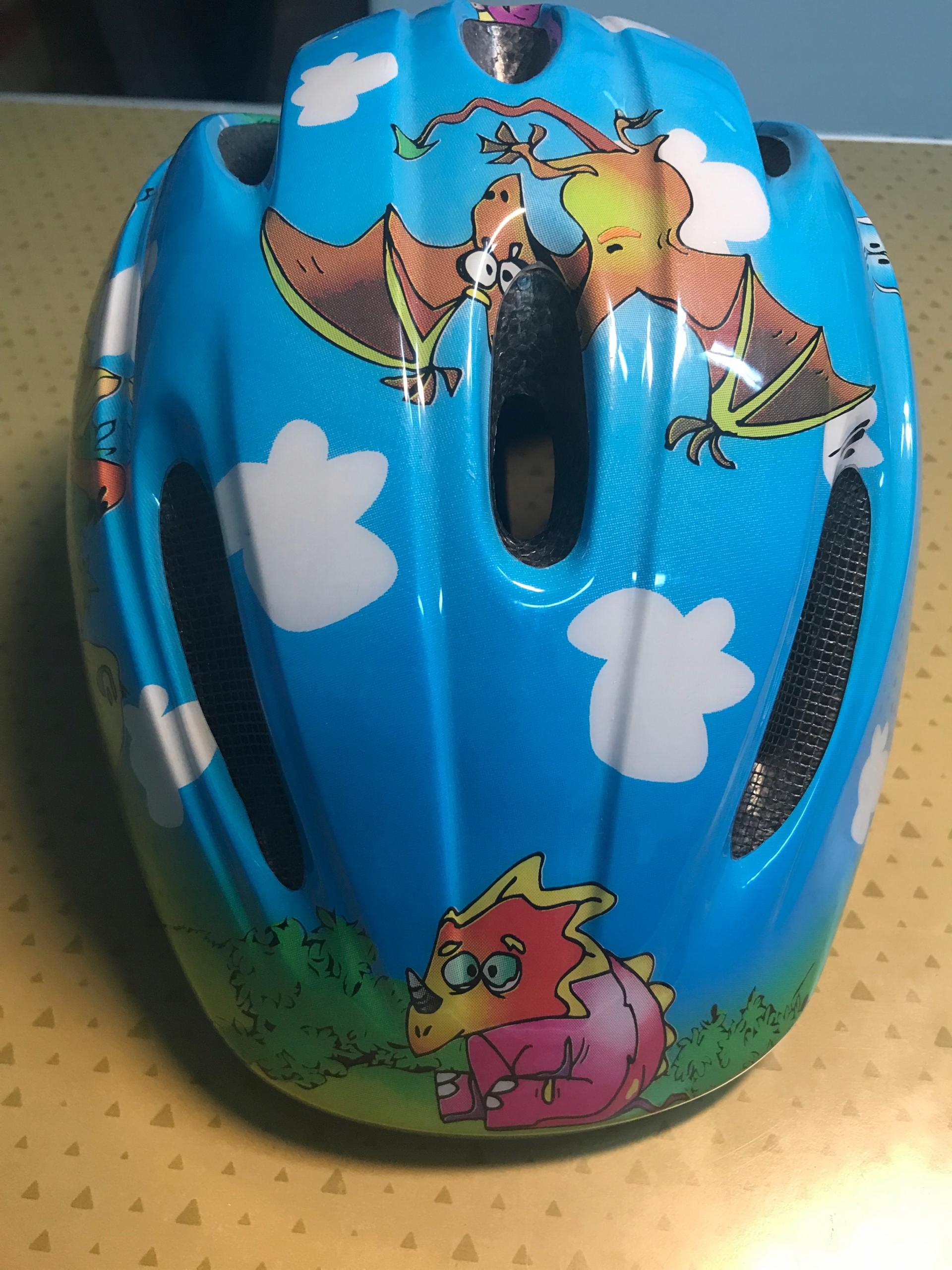 Kask rowerowy dziecięcy LIMAR roz. 48-53 cm