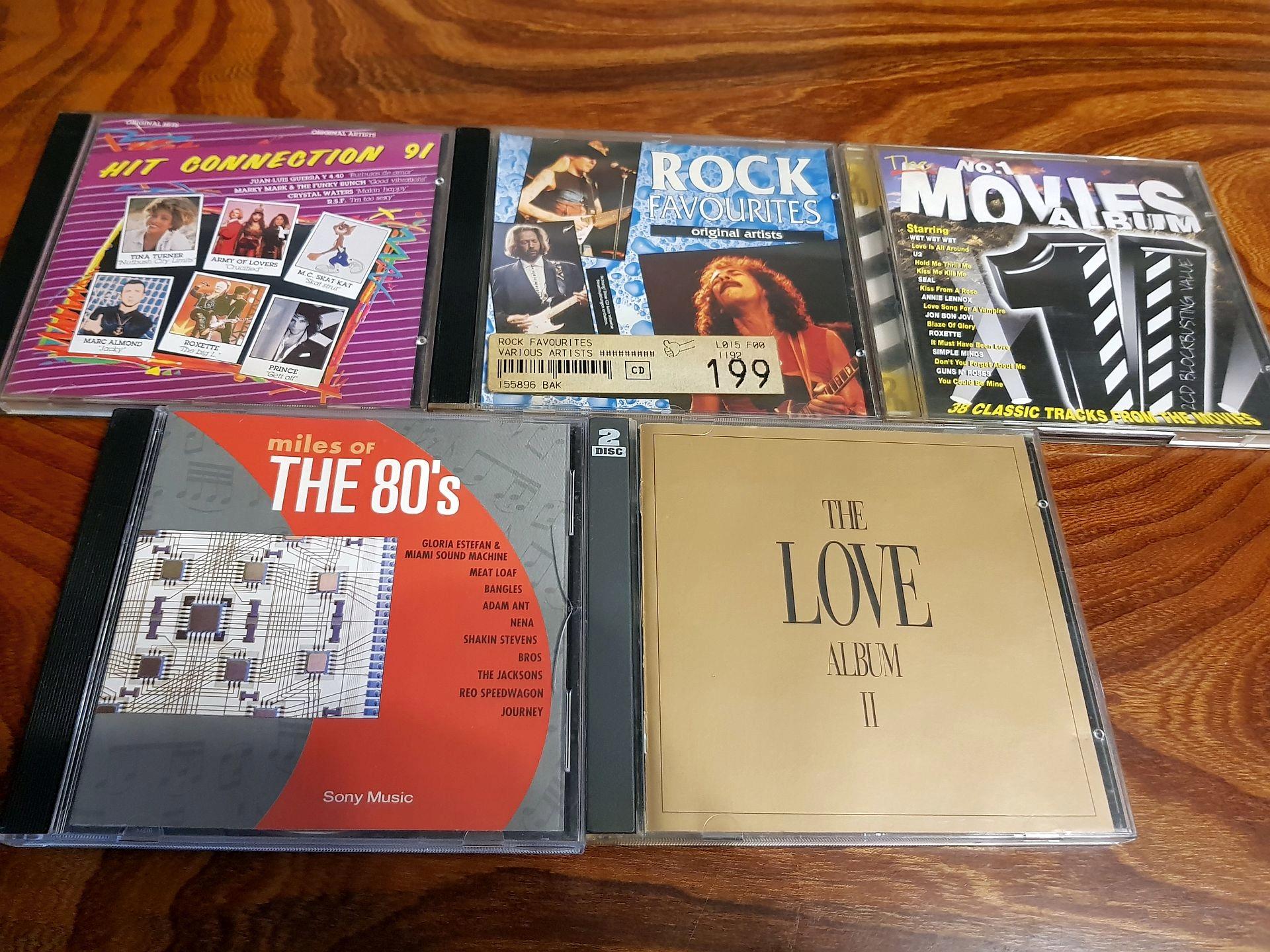 ZESTAW 7CD / THE 80',LOVE ALBUM,HIT CONNECTION 91