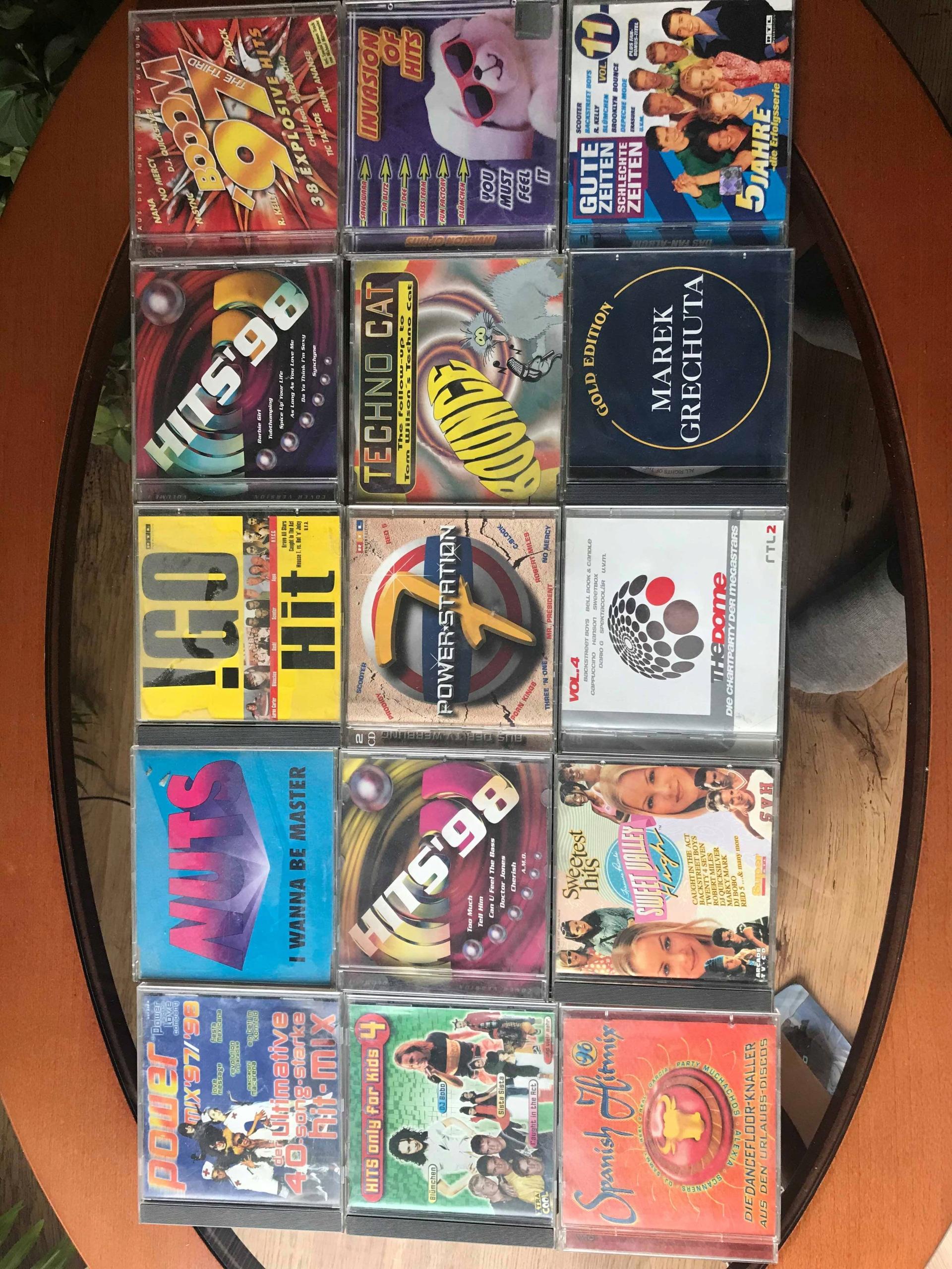 Zestaw płyt CD