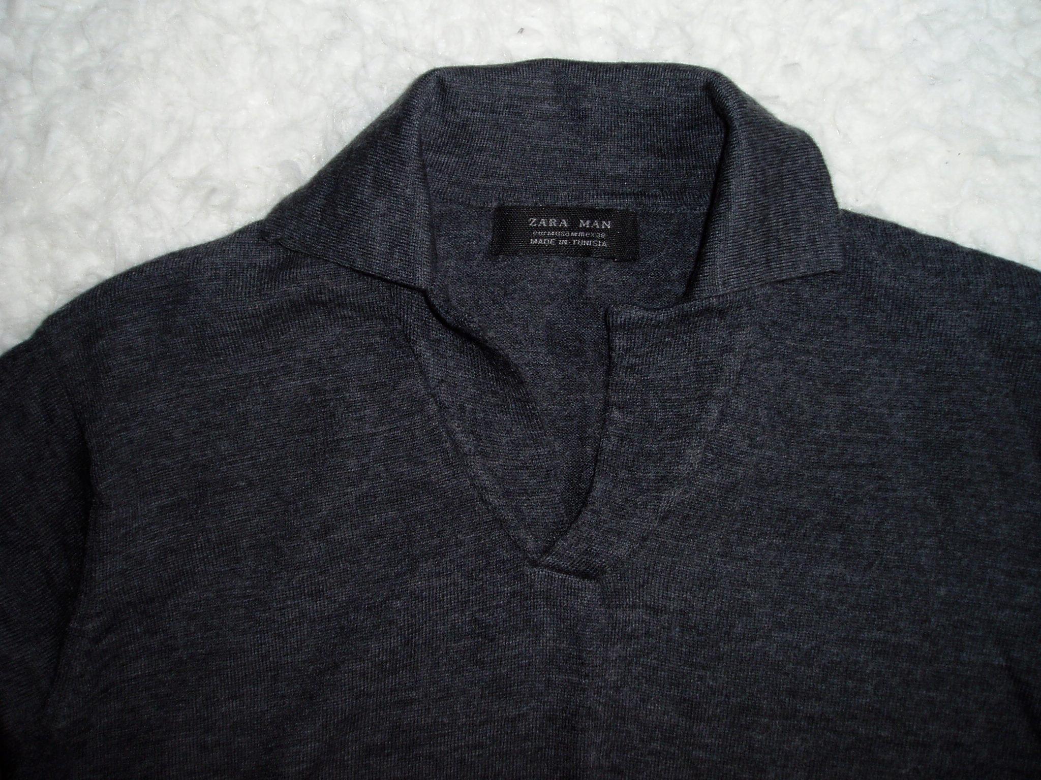 ZARA - wełniany sweter/M