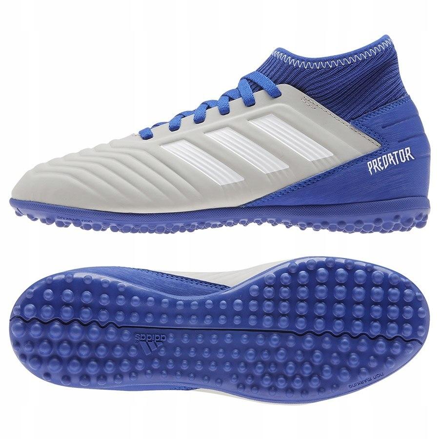 Buty adidas Predator 19.3 IN J G25806 Kolor szary Rozmiar EUR 35