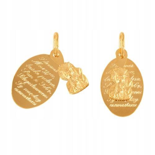 Medalik złoty 585 - 46056