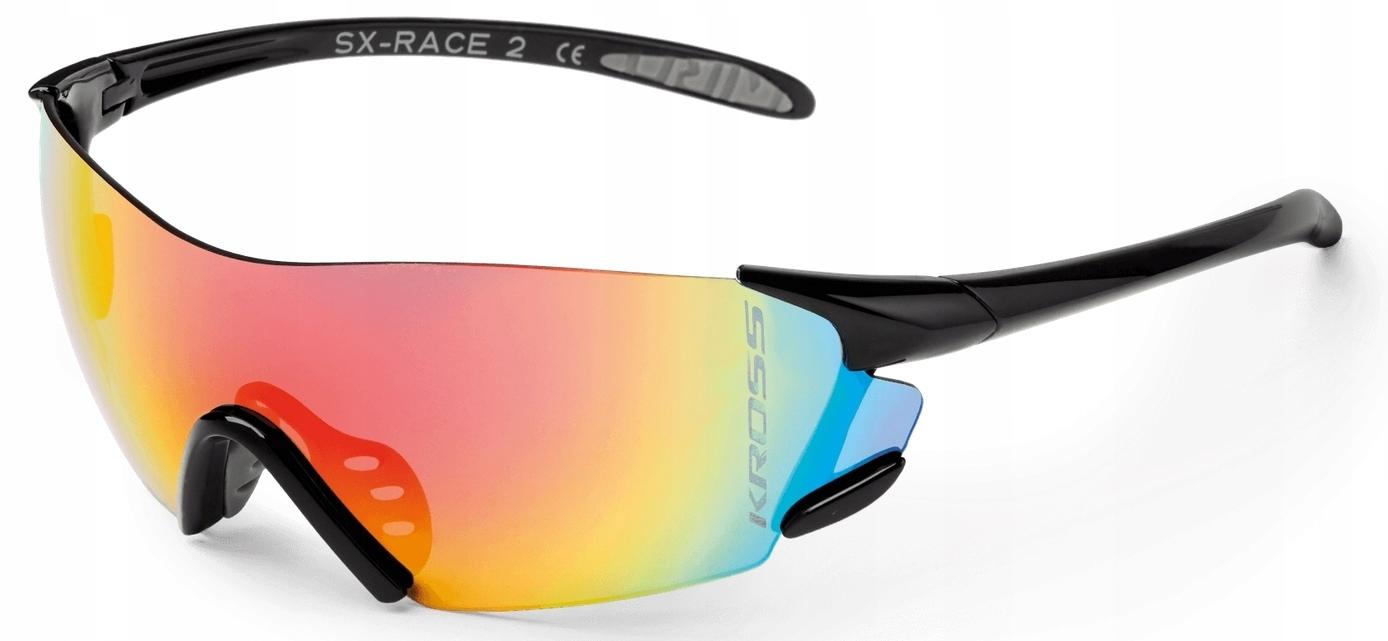 Okulary KROSS SX-RACE II black-gray