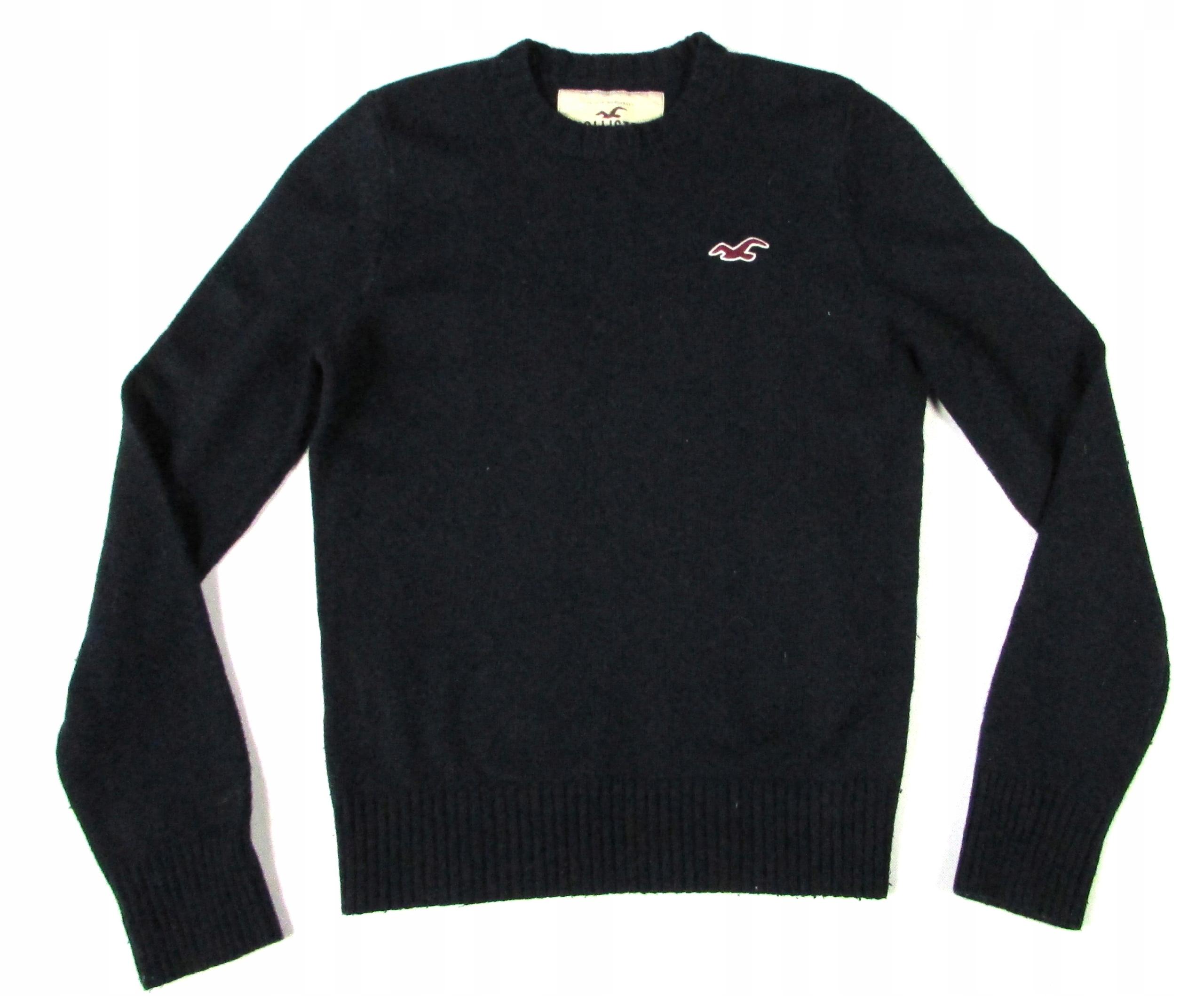 ** HOLLISTER **__M__Klasyczny, wełniany sweter