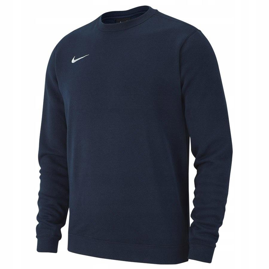 Bluza Nike Crew FLC TM Club 19 AJ1466 451 granatow