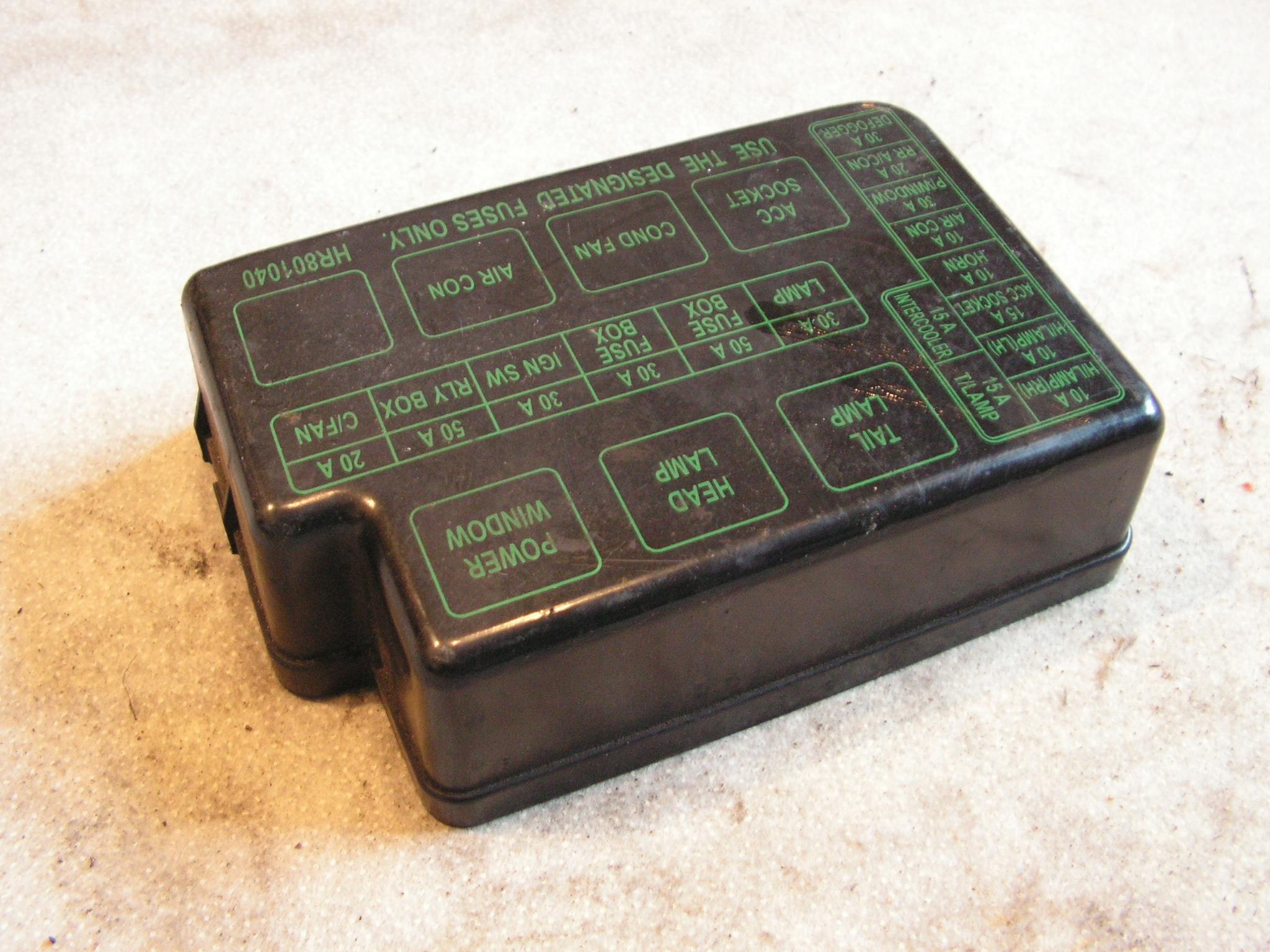 Hyundai Galloper Fuse Box - Wiring Diagrams Outlet