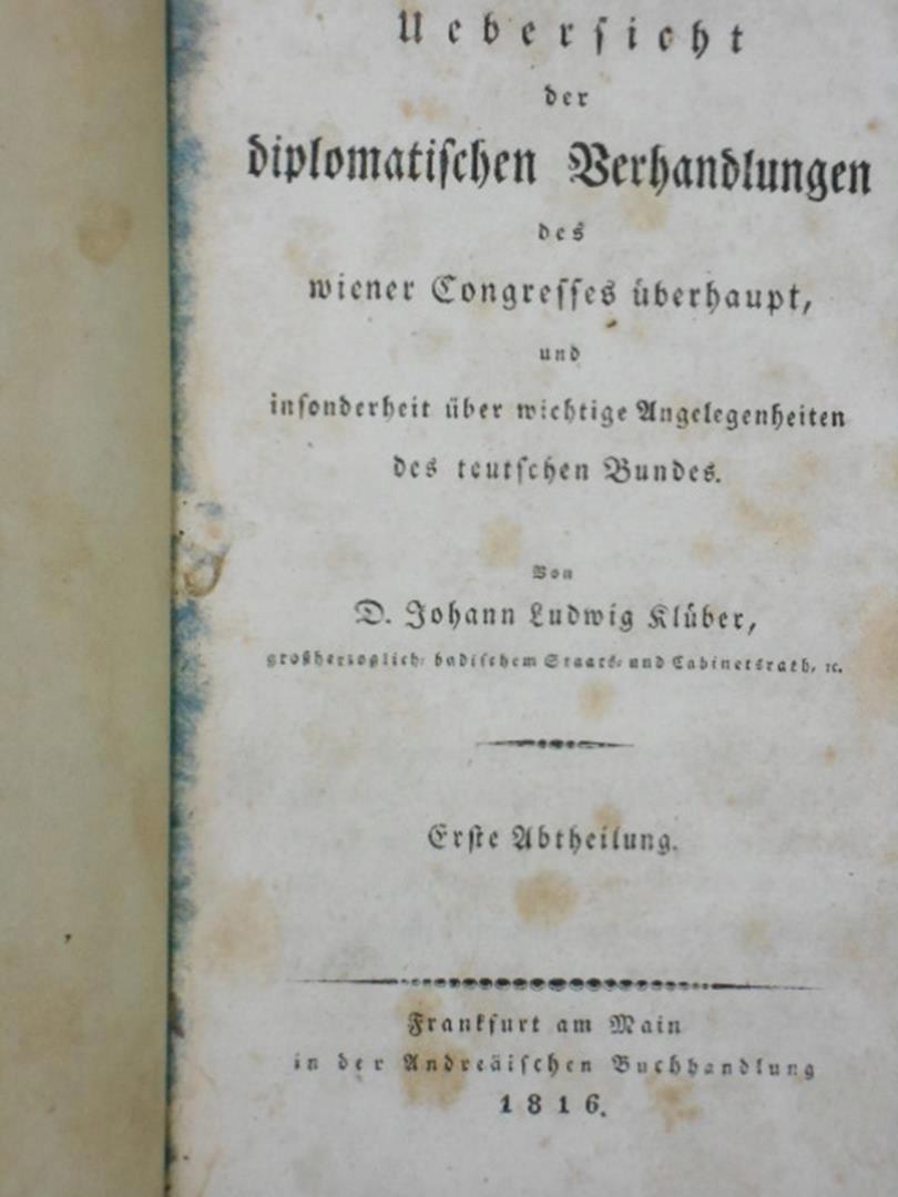 Dyplomatyczne pertraktacje na Kongresie Wiedeńskim