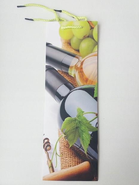 Torebka prezentowa na wino 12x36x9 cm